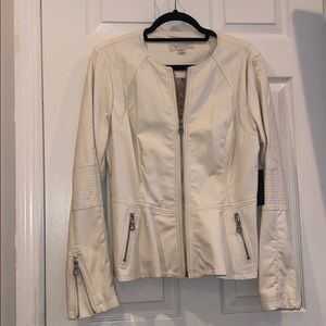 NWT Guess Faux leather jacket